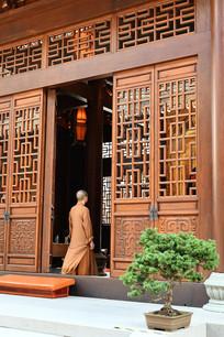 玉佛寺僧人
