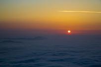 云海上的红日