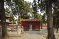 孔庙鲁壁和孔宅故井