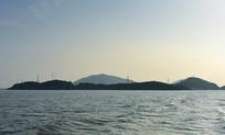 连绵起伏的海岛
