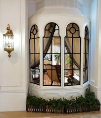 欧式风格窗户装修
