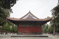 曲阜孔庙同文门侧边