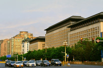 北京东长安街的商务部大楼