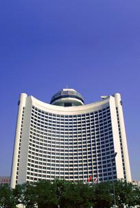 北京市长安街的北京国际饭店