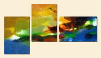 三拼组合抽象画
