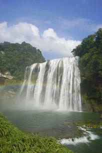 黄果树大瀑布-瀑布彩虹