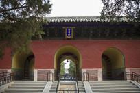 曲阜孔庙圣时门
