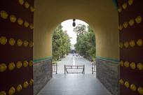 山东曲阜孔庙圣时门