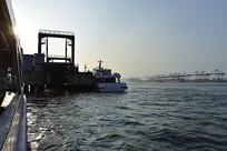 送船出海的客运码头