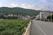 嵊泗渔村的马路