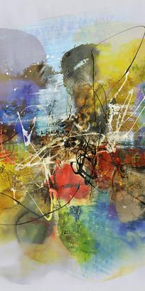 高雅的抽象油画艺术