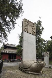 曲阜孔庙成化碑