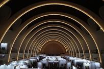 上海展览中心中央大厅穹顶