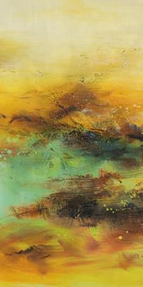 山水风景抽象艺术画