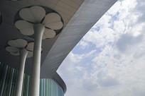 国展建筑花