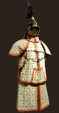八旗盔甲制服-镶白旗
