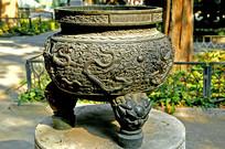北京孔庙清代乾隆时期的铜炉