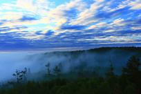 大兴安岭林海云雾