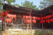 湖南杨家界乌龙寨传统庭院