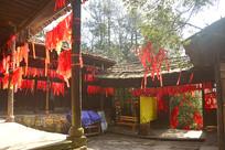 湖南杨家界乌龙寨庭院