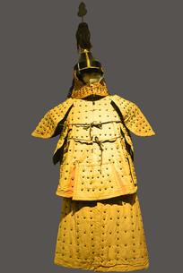 清代八旗盔甲制服-正黄旗