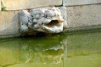 北京国子监辟雍排水设施雕塑