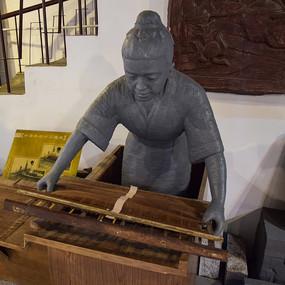 古代人物雕塑