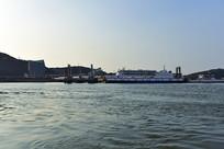 午后的沈家湾客运码头