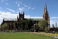 悉尼海德公园圣玛丽大教堂