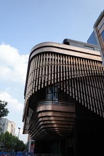 上海外滩金融中心一角