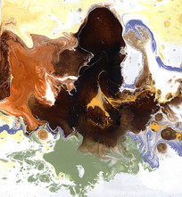 水墨艺术抽象油画
