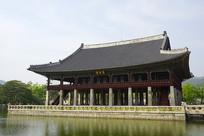 韩国国宝景福宫庆会楼