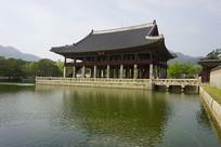 韩国景福宫-庆会楼