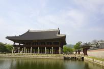 韩国景福宫庆会楼