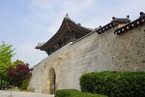 韩国景福宫神武门城楼
