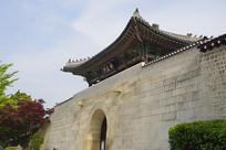 韩国景福宫神武门及其城楼