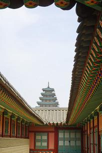 景福宫及国立民俗博物馆塔楼