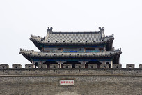 曲阜明故城城墙建筑
