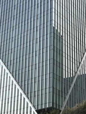 上海高楼玻璃幕墙