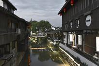 新场古镇的古建筑与水巷