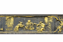 中国传统金漆木雕-会客场景