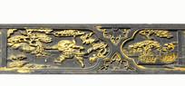 中国传统金漆木雕-武生