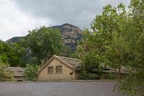 山东泰山桃花峪游人中心的民居