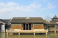 苏州园林木渎古镇圣旨博物馆