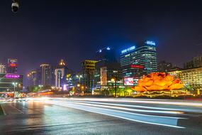 西安城市夜景