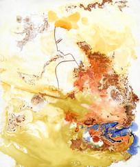 抽象水墨意境画
