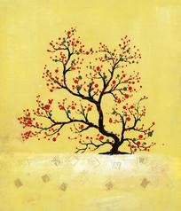 发财树装饰画