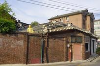 韩国北村韩屋村的街道