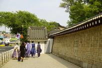 韩国景福宫-宫墙