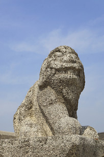 韩国景福宫勤政殿狮形兽